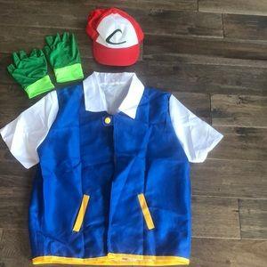 Men's Pokémon catcher Halloween costume